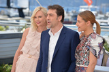 Adele Exarchopoulos Photo - Actors Charlize Theron Javier Bardem  Adele Exarchopoulos at the photocall for The Last Face at the 69th Festival de CannesMay 20 2016  Cannes FrancePicture Paul Smith  Featureflash