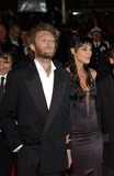 Vincent Cassel Photo - Actress MONICA BELLUCCI  actor husband VINCENT CASSEL at the Cannes Film Festival for the world premiere of their movie Irreversible24MAY2002   Paul Smith  Featureflash