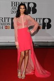 Aluna George Photo - Aluna Francis (AlunaGeorge) arriving for the BRIT Awards 2014 at the O2 Arena Greenwich  London 19022014 Picture by Steve Vas  Featureflash