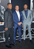 Carl Weathers Photo - Actors Sylvester Stallone  Michael B Jordan with Carl Weathers (left) at the Los Angeles World premiere of Creed at the Regency Village Theatre WestwoodNovember 19 2015  Los Angeles CAPicture Paul Smith  Featureflash