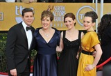 Amy Nuttall Photo - Downton Abbey stars Allen Leech (left) Phyllis Logan Amy Nuttall  Sophie McShera at the 19th Annual Screen Actors Guild Awards at the Shrine Auditorium Los AngelesJanuary 27 2013  Los Angeles CAPicture Paul Smith  Featureflash