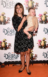 Adele Photo - LondonUK   Adele Silva and Sienna at Digby Dragon World Premiere held at The Conservatory Barbican Centre London 2nd July 2016  RefLMK392-60800-030716  Vivienne VincentLandmark Media WWWLMKMEDIACOM