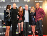 Alona Tal Photo - London UK Ben Watkins Holly Marilyn Solem Ron Perlman  Marc Forster Alona Tal and  Dana Delany at  Hand of God TV series premiere  in London Britain 2nd September 2015Ref LMK381-58094-030915Nikki LewisLandmark MediaWWWLMKMEDIACOM