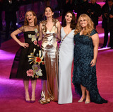 Alison Brie Photo - London UK Leslie Mann Dakota Johnson Alison Brie Rebel at the UK Premiere of How To Be Single at Vue West End Leicester Square London on Tuesday 9 February 2016Ref LMK392 -58833-100216Vivienne VincentLandmark Media WWWLMKMEDIACOM