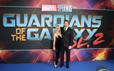 Anna Faris Photo - London UK Chris Pratt and Anna Faris at Guardians of The Galaxy Vol 2 - European gala premiere at Eventim Apolllo Hammersmith London on April 24th 2017Ref LMK73-J229-250417Keith MayhewLandmark MediaWWWLMKMEDIACOM