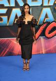 Zoe Saldana Photo - London UK Zoe Saldana at Guardians of The Galaxy Vol 2 - European gala premiere at Eventim Apolllo Hammersmith London on April 24th 2017Ref LMK73-J229-250417Keith MayhewLandmark MediaWWWLMKMEDIACOM