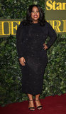 Amber Riley Photo - London UK Amber Riley at The Evening Standard Theatre Awards at The Old Vic The Cut London on Sunday 13 November 2016Ref LMK392-62745-141116Vivienne VincentLandmark Media WWWLMKMEDIACOM