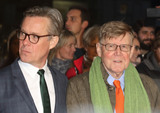 Alex Jennings Photo - London UK Alex Jennings and Alan Bennett at London Film Festival Centrepiece Gala The Lady in the Van at the Odeon Leicester Square London on October 13th 2015Ref LMK73-58359-141015Keith MayhewtLandmark Media WWWLMKMEDIACOM