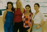Andie Macdowell Photo - Andie Macdowell with Claudia Schiffer  Virginie Ledoyen and Gong Li at the Cannes Film Festival 2000 Photo by Alpha-Globe Photos Inc