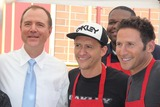 Adam Schiff Photo - Hollywood Chamber of Commerce Hosts Annual Police  Firefighters Appreciation Day Hollywood Division Station Hollywood CA 08272014 Adam Schiff Clifton Collins Jr Mark Feuerstein and Kelvin Brown Clinton H WallaceGlobe Photos Inc
