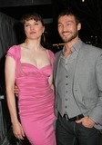 Andy Whitfield Photo - a Screening of Extraordinary Measures at School of Visual Arts Theater in New York City 01-21-2010 Photo by Paul Schmulbach-Globe Photos Inc Lucy Lawless with Andy Whitfield