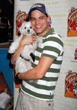 Jeremy Jordan Photo - Jeremy Jordan attends the Broadway Barks 14th Annual Animal Adoption Event in Shubert Alley in New York on July 14 2012 Upi Laura Cavanaugh