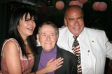 Jack LaLanne Photo - Birthday Party For Philanthropist Arthur Kassel Private Estate Beverly Hills California 08-18-2007 Maria Conchita Alonso Jack Lalanne and Arthur Kassel Photo Clinton H Wallace-photomundo-Globe Photos Inc