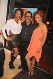 Chrystee Pharris Photo - Natasha Mccreas Evolution of a Love Addict Book Launch Cocktail Party Hosted by Chrystee Pharris Nicole Miller Store West Hollywood CA 10222014 Natasha Mccrea Ted Lange and Chrystee Pharris Clinton H WallaceGlobe Photos Inc