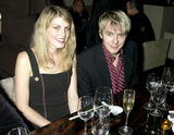 Nicky Haslam Photo - Dave Benettalpha 049265 08102002 Nick Rhodes and Girlfriend Meridith -Nicky Haslam Was Thrown a Party by Mrs Ella Kracner at Sakusam the New Restaurant in Albermale Street London Photo Bydave BenettalphaGlobe Photos Inc 2002