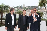 Albert Dupontel Photo - Director Gustave de Kervern (l-r) Actors Albert Dupontel Benoit Poelvoorde and Director Benoit Delepine Pose at the Photocall of Le Grand Soir During the 65th Cannes Film Festival at Palais Des Festivals in Cannes France on 22 May 2012 Photo Alec Michael Photo by Alec Michael-Globe Photos Inc