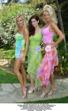 Carrie Stevens Photo - Playboys Playmate of the Year 2001 Honors Brande Roderick at the Playboy Mansion in LA Lisa Dergan Carrie Stevens  Victoria Silvstedt Wearing Fashion by Elisabetta Rogiani Photo by Fitzroy BarrettGlobe Photos Inc 4-26-2001 K21641fb (D)