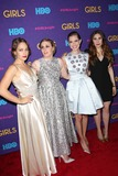 Lena Dunham Photo - The New York Premiere of the Third Season of Girls Presented by Hbo Jazz at Lincoln Center the Time Warner Center NYC January 6 2014 Photos by Sonia Moskowitz Globe Photos Inc 2014 Jemima Kirke Lena Dunham Allison Williams Zosia Mamet