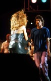 Tina Turner Photo - 1985 Live Aid Photo by RangefindersGlobe Photos Mick Jagger and Tina Turner