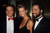 Elle Macpherson Photo - Bruce Jenner Elle Macpherson Philip Michael Thomas A3484 Photo by Adam Scull-Globe Photos Inc