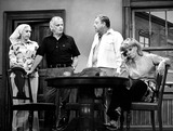 Sheila MacRae Photo - Jane Kean Art Carney Jackie Gleason and Sheila Macrae in the Honeymooners Supplied by DmGlobe Photos Inc Artcarneyretro