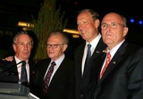 Larry King Photo - K39023JBBMAYOR BLOOMBERG  GOVERNOR PATAKI AND NYC HOST COMMITTE KICK OFF GOP CONVENTION WITH GALA MEDIA WELCOME PARTY AT THE TIME WARNER CENTER  NEW YORK CITY  08282004PHOTO BY JOHN BARRETTGLOBE PHOTOSINCRUDY GIULIANI_GEORGE PATAKI_LARRY KING_MICHAEL BLOOMBERG