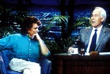 Johnny Carson Photo - the Tonight Show Johnny Carson_michael Landon Tvfilm Still Supplied by Globe Photosinc