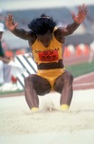 Jackie Joyner-Kersee Photo - Jackie Joyner Kersee Photo by Chuck Muhlstock-Globe Photos