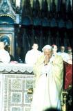 John Paul Photo - Pope John Paul Ii Meeting with Papa Giov in Assisi Photo Globe Photos Inc