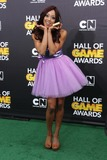 Alicia Fox Photo - Alicia Fox attends Cartoon Networks Fourth Annual Hall of Game Awards on 15th February 2014 at Barker Hangarsanta Monicacausa Photo TleopoldGlobe Photos