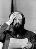 Alexander Solzhenitsyn Photo - Alexander Solzhenitsyn Photo by Jeff Taylor-Globe Photos Inc