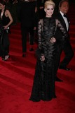 Anne Hathaway Photo - Ann Hathaway at Costume Institute Gal Benefit Celebrating Punk Chaos to Couturean Exhibition at the Metropolitian Museum of Art 5-6-2013 Photo by John BarrettGlobe Photos