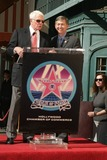 Peter Graves Photo - Peter Graves Honored with Star on the Hollywood Walk of Fame 6667 Hollywood Blvd Hollywood CA 103009 Peter Graves and Leron Gubler Photo Clinton H Wallace-photomundo-Globe Photos Inc