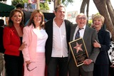Dawn Wells Photo - Sherwood Schwartz Honored with Star on Hollywood Walk of Fame Hollywood Blvd Hollywood CA 030708 Dawn Wells Susan Olsen Christopher Knight Sherwood Schwartz and Florence Henderson Photo Clinton H Wallace-photomundo-Globe Photos Inc