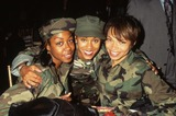Tisha Campbell Photo - Tisha Campbell with Tichina Arnold and Jada Pinkett Independence Day Premiere 1996 K5448lr Photo by Lisa Rose-Globe Photos Inc