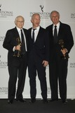 Alan Alda Photo - Alan Alda Right Middle Ryan Murphy Left Norman Lear International Emmy Awards New York Hilton and Towers NYC 11192012 Photo Mitchell Levy Photo by Mitch Levy- Globe Photos Inc