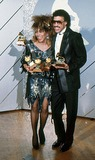Tina Turner Photo - Tina Turner and Lionel Ritchie at the Grammys Awards 1985 13577 Photo by Bob Michelson-Globe Photos Inc