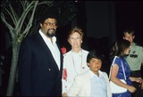 Rosey Grier Photo - Rosey Grier with Wife Margie and Son Roosevelt Kennedy Grier 29326 Photo by Bob V Noble-Globe Photos Inc