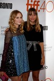 Alice Winocour Photo - Actress Diane Kruger (L) and Director Alice Winocour Attend the Premiere of Disorder During the 40th Toronto International Film Festival Tiff at Roy Thomson Hall in Toronto Canada on 17 September 2015 Photo Alec Michael