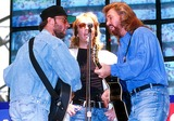 Bee Gees Photo - Bee Gees Concert 8091993 Photo Uppa Ipol Globe Photos Inc 1998 Bee Gees Maurice Barry and Robin Gibb Mauricegibbretro