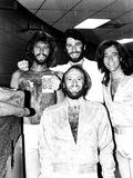 Bee Gees Photo - The Bee Gees and John Travolta 1979 Bob ShermanGlobe Photos Inc Beegeesretro