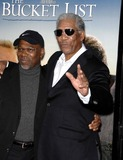 Alfonso Freeman Photo - Alfonso Freeman and Morgan Freeman During the Premiere of the New Movie From Warner Bros Pictures the Bucketet List Held at the Cinerama Dome on December 16 2007 in Los Angeles Photo by Michael Germana-Globe Photosinc
