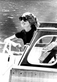 Jacqueline Kennedy Onassis Photo - Jacqueline Kennedy Onassis on Capri Holiday 1971 8232 IpolGlobe Photos Inc Jacquelinekenndeyonassisretro
