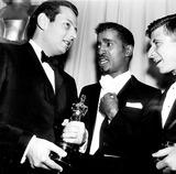 Andre Previn Photo - Academy Awards  Oscars (36th) Andre Previn Sammy Davis Jr and Elmer Bernstein 1964 d753-21 Globe Photos Inc