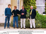 William Prince Photo - 0799 Prince Williamprince Charlesprince Henry  Police Sergeant Chris Gilbert (williams Driving Instructor) -Prince Williams Driving Lessons Photocall at Highgrove House in Gloucestershire
