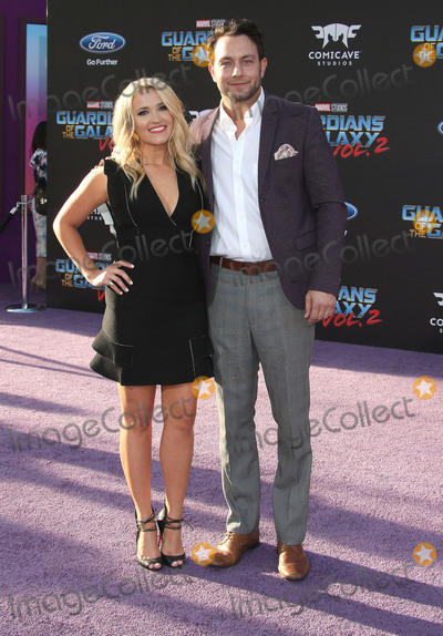 Emily Osment,Jonathan Sadowski Photo - Guardians Of The Galaxy Vol 2 Los Angeles Premiere