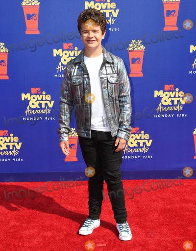 Photo - 15 June 2019 - Santa Monica California - Gaten Matarazzo 2019 MTC Movie and TV Awards held at Barker Hangar Photo Credit Birdie ThompsonAdMedia