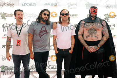 Everytime I Die Photo - 22 July 2015 - Cleveland Ohio - Jordan Buckley Stephen Micciche and Daniel Davison and Andy Williams of the band Everytime I Die attend the 2015 Alternative Press Music Awards at Quicken Loans Arena Photo Credit Jason L NelsonAdMedia