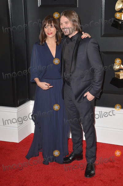 Alan Hicks Photo - 10 February 2019 - Los Angeles California - Rashida Jones Alan Hicks 61st Annual GRAMMY Awards held at Staples Center Photo Credit AdMedia
