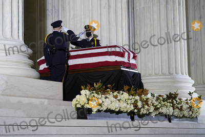 Photo - Supreme Court Justice Ruth Bader Ginsburg  Tribute in front of the Supreme Court